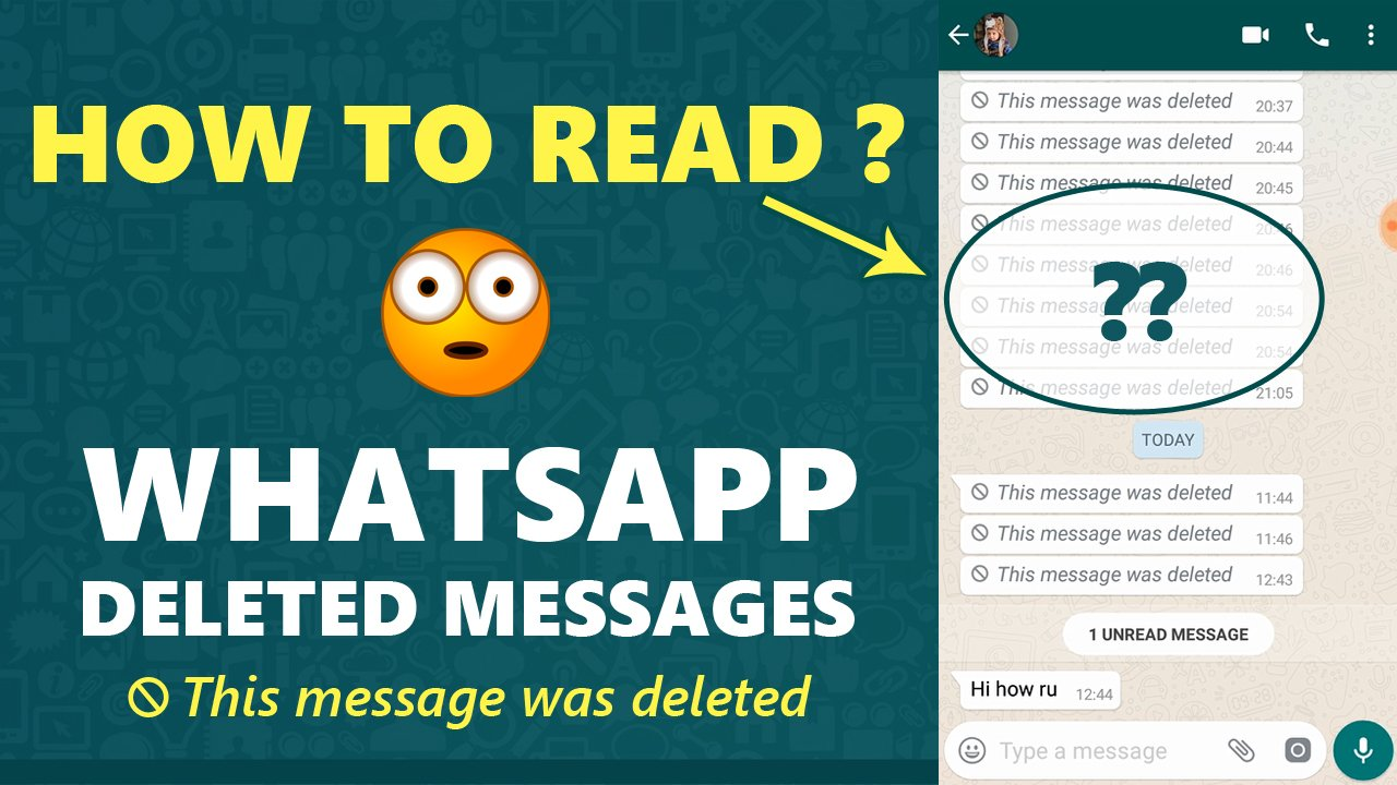 recover whatsapp deleted messages