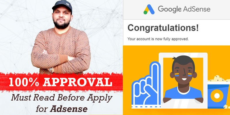 Fully Approved Google Adsense Account Trick