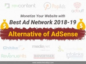 11 Google AdSense Alternatives for Blogger [2020]