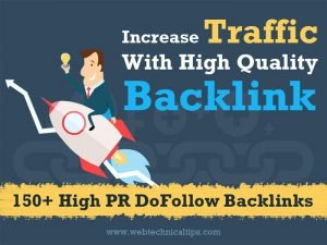 150+ Quality High PR DoFollow Backlinks List to Boost Your Ranking