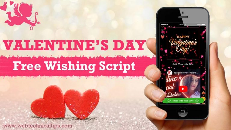 Download Valentines Day Wishing Script Free 2021 [WhatsApp Viral]