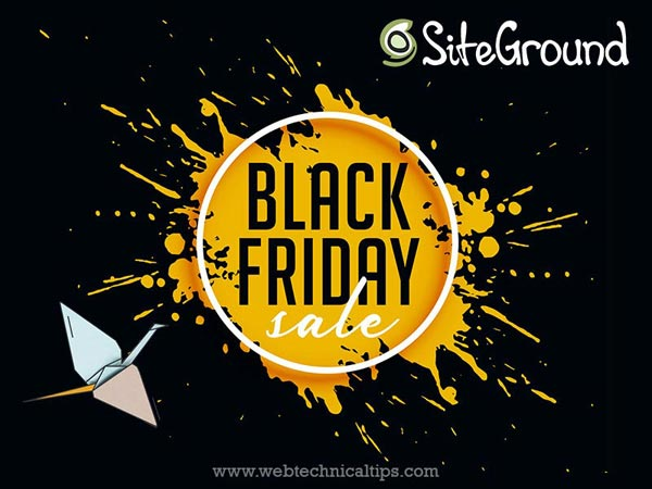 SiteGround Black Friday Deals 2020: Up to 70% Discount Offer