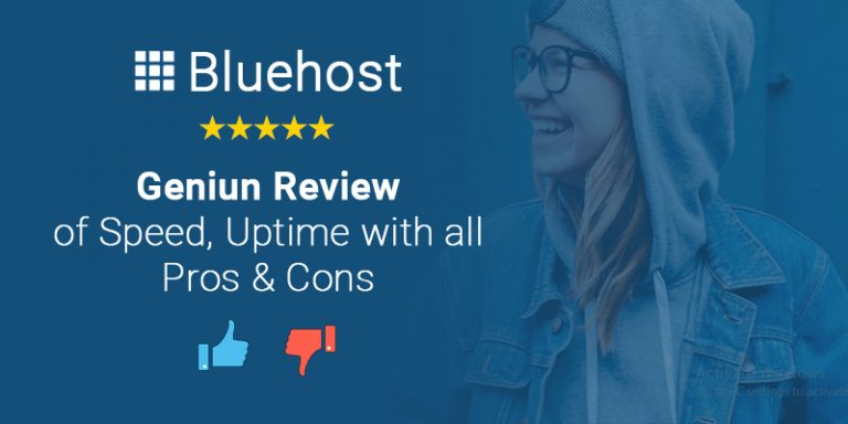 Bluehost India Review 2021 : Honest Review with All Pros and Cons