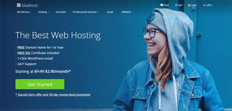 buy bluehost web hosting