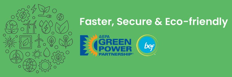 GreenGeeks 300% eco friendly Hosting